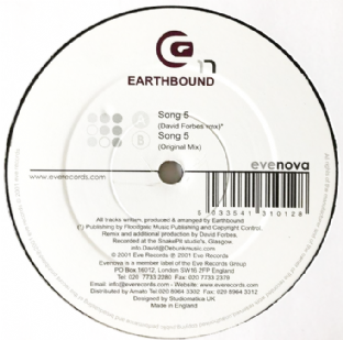 "Earthbound ‎- Song 5 (12"") (VG-/VG+)"